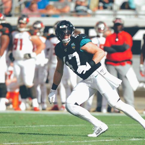 Jacksonville Jaguar Jake Ryan Adopts-A-Team