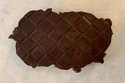 Dark Chocolate Popcorn Bar