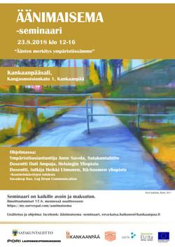 Äänimaisema-seminaari 23.8.