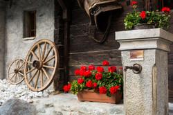 Grimentz village