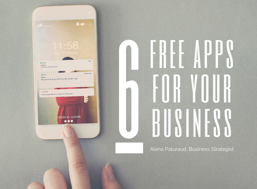 6 FREE applications that I use for my consulting business