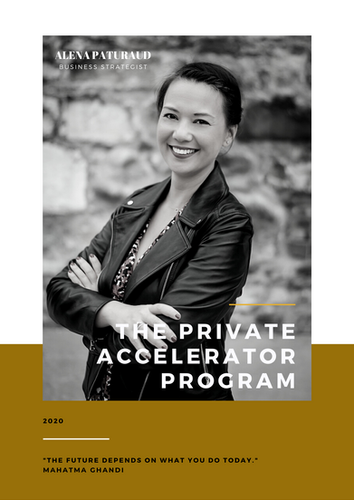 The Private Accelerator program with Alena Paturaud