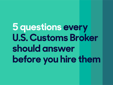 Tips to make your Customs Broker relationship a long-term success