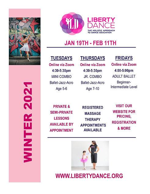Schedule - Winter Term 2021 - Jan19-Feb1