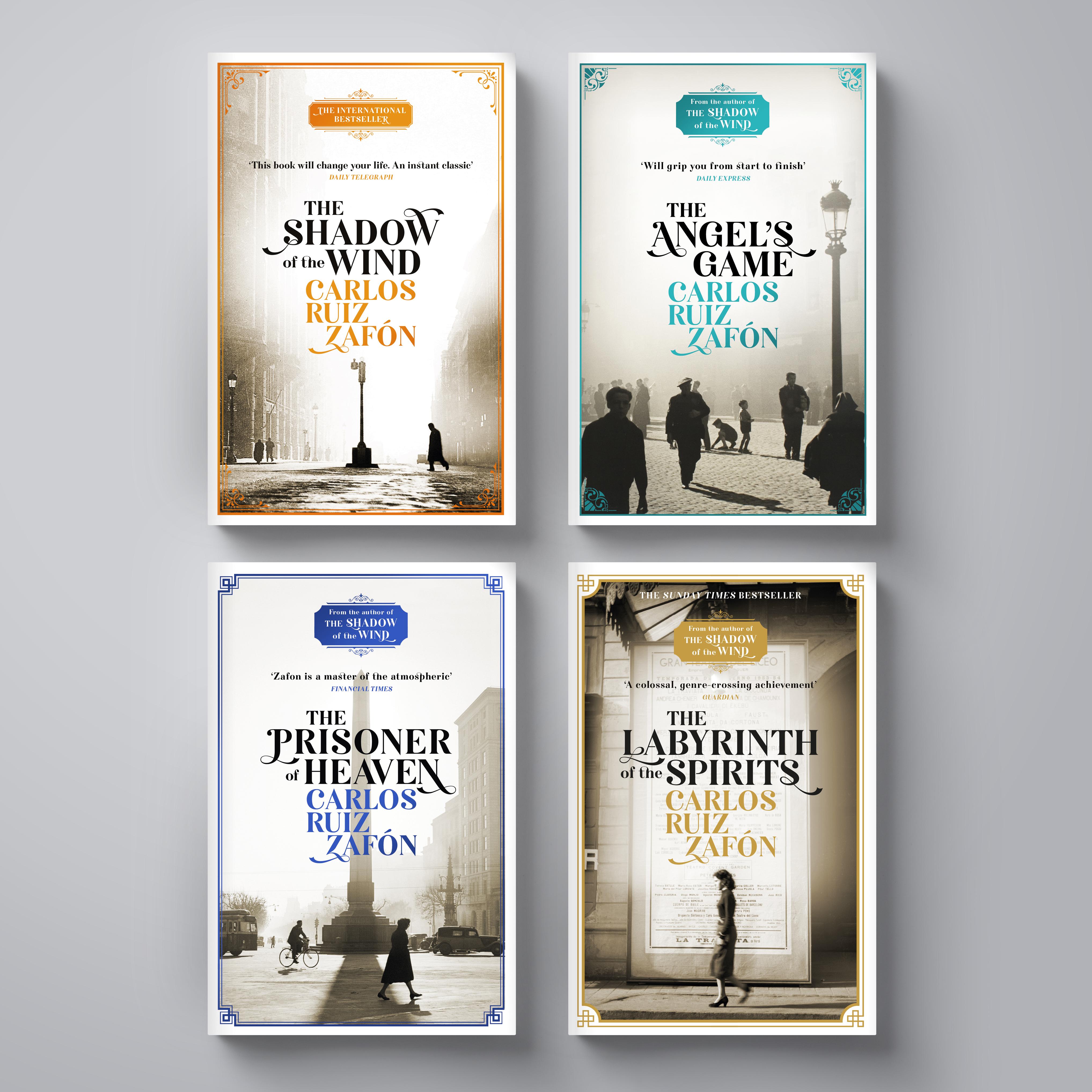 Carlos Ruiz Zafon paperbacks