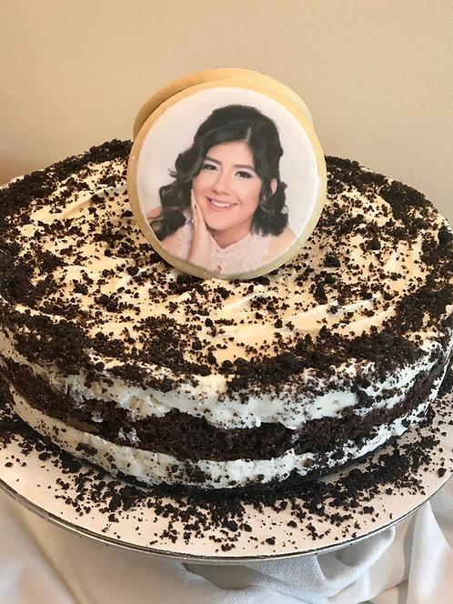Custom Earl Grey Ice Cream Cake