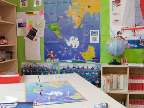 Las Escuelas seguirán la Vendée Globe de Didac Costa