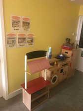 Home corner - Yellow Room