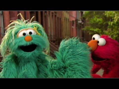 Elmo and Rosita