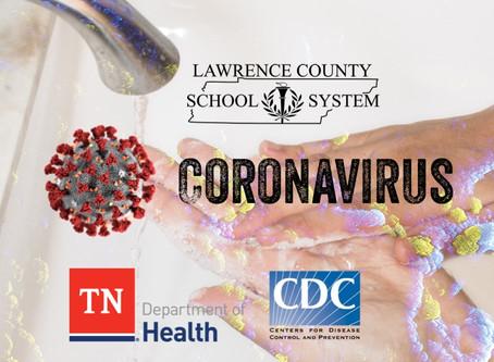 LATEST INFO ON CORONAVIRUS