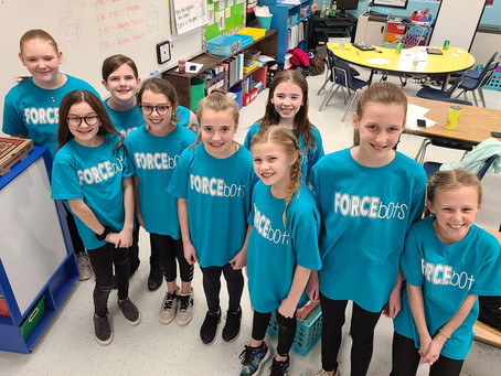 SES Competes in FIRST LEGO Robotics Event 1