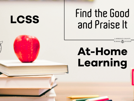 LCSS AT-HOME LEARNING