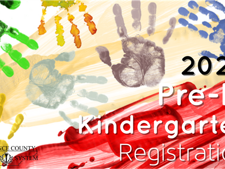 Pre-K, Kindergarten Registration Ends April 17th