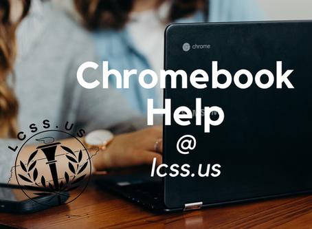 Chromebook Help Available Now Monday-Thursday