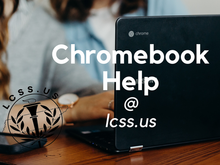 Chromebook Help Available Now Monday-Thursday