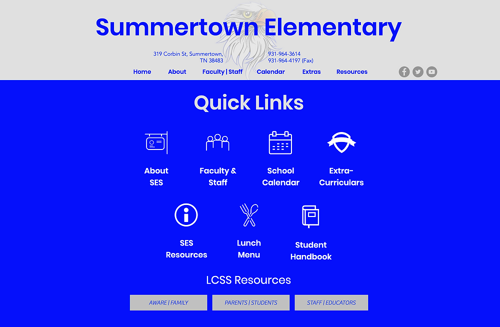 Your online home for all things Summertown Elementary