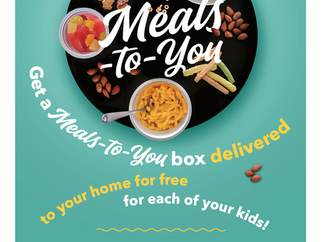 Meals to You Available Now to LCSS Students