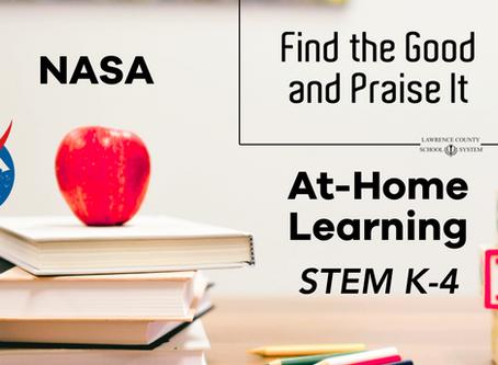NASA STEM Home Learning
