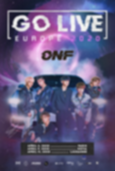 ONF Go Live Europe 2020 (English Poster)
