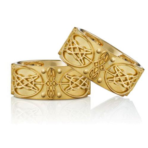 """Ring """"8-er Ring"""" in 750er Gelbgold"""