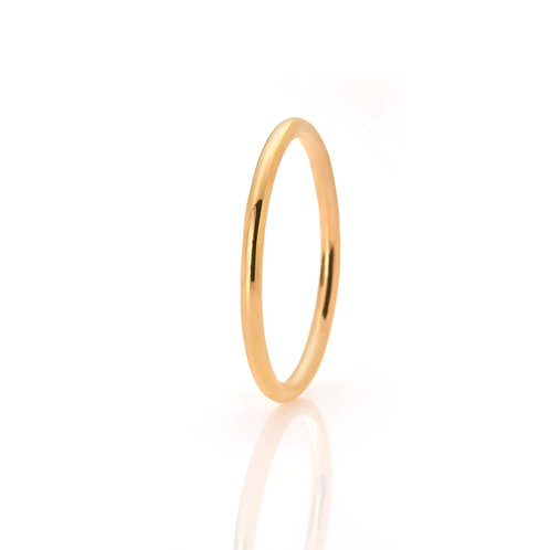 Ring in 585er Gelbgold, in RW 52