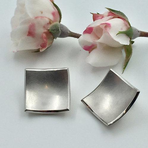 Ohr-Clip in 925er Silber/ rhodiniert