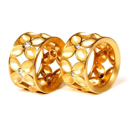 """Ring in 750er Gelbgold """"Vierpass"""""""