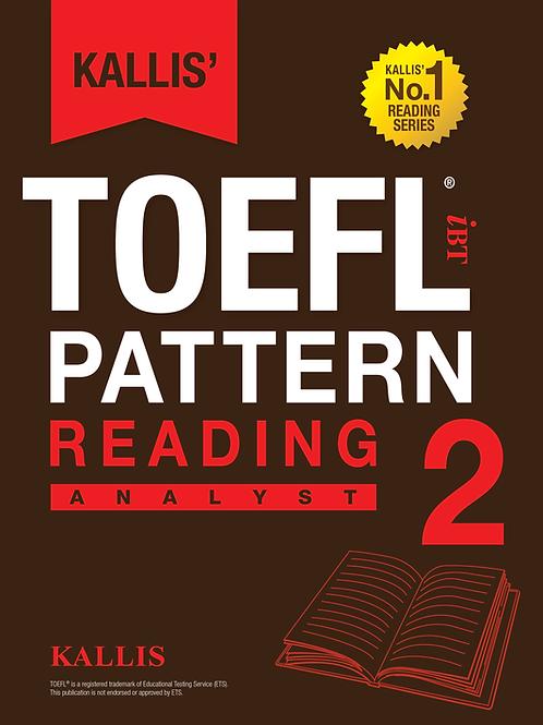 TOEFL Pattern Reading Level 2