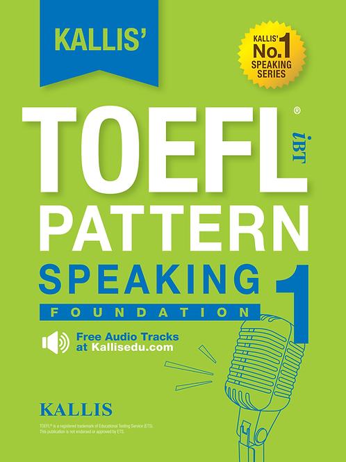TOEFL Pattern Speaking Level 1