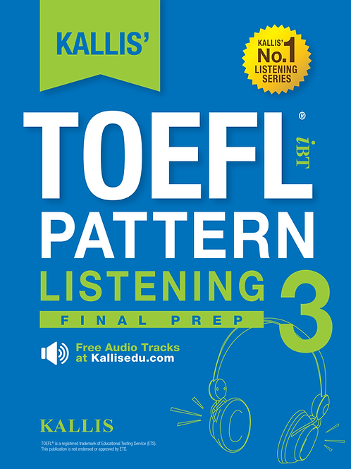 TOEFL Pattern Listening Level 3