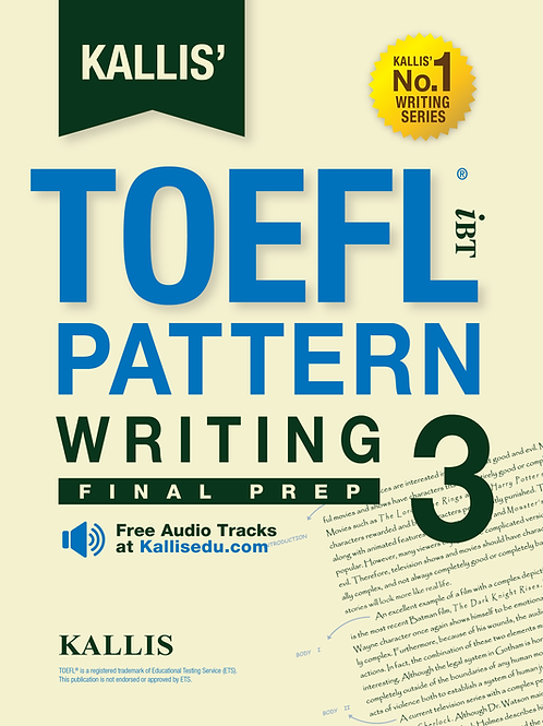 TOEFL Pattern Writing Level 3
