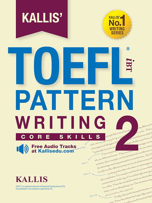 TOEFL Pattern Writing Level 2