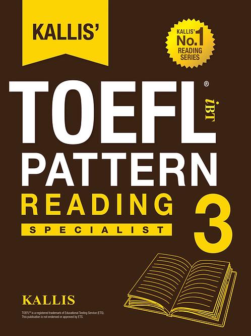 TOEFL Pattern Reading Level 3