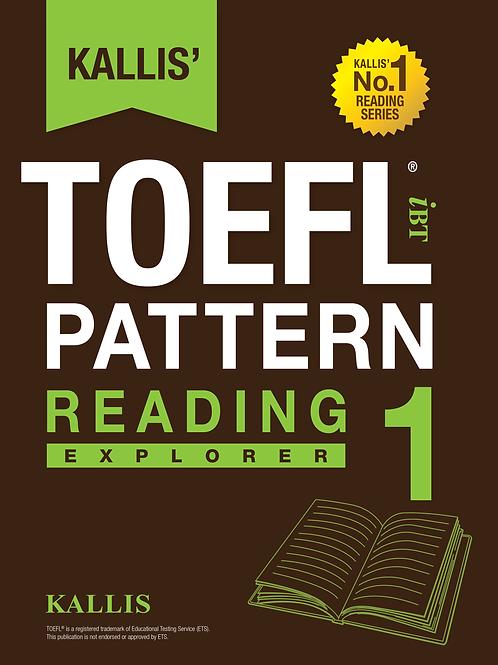 TOEFL Pattern Reading Level 1