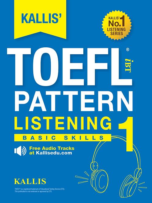 TOEFL Pattern Listening Level 1