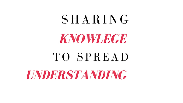 Sharing knowledge to spread understanding