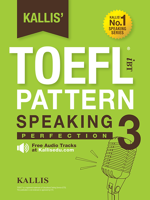 TOEFL Pattern Speaking Level 3