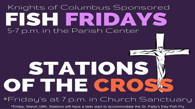 Fish Fry and Stations of the Cross