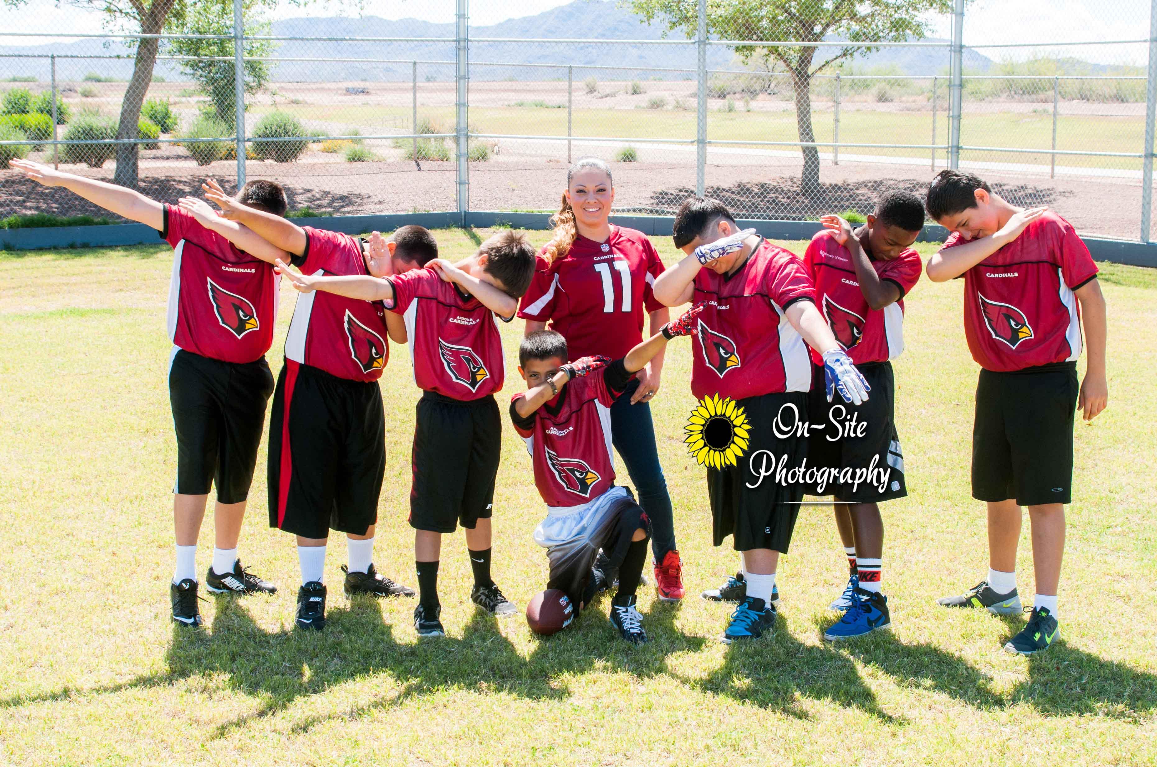 Funny Team Photo On-Site Photography sports photographer, buckeye, goodyear, avondale, az