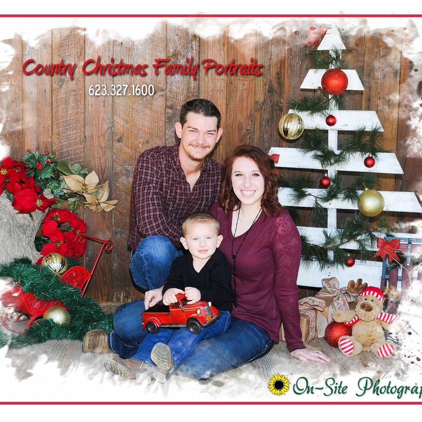 On-Site Photography Family Portraits Country Christmas Portraits Christmas Photography Buckeye avondale goodyear verrado arizona photographer