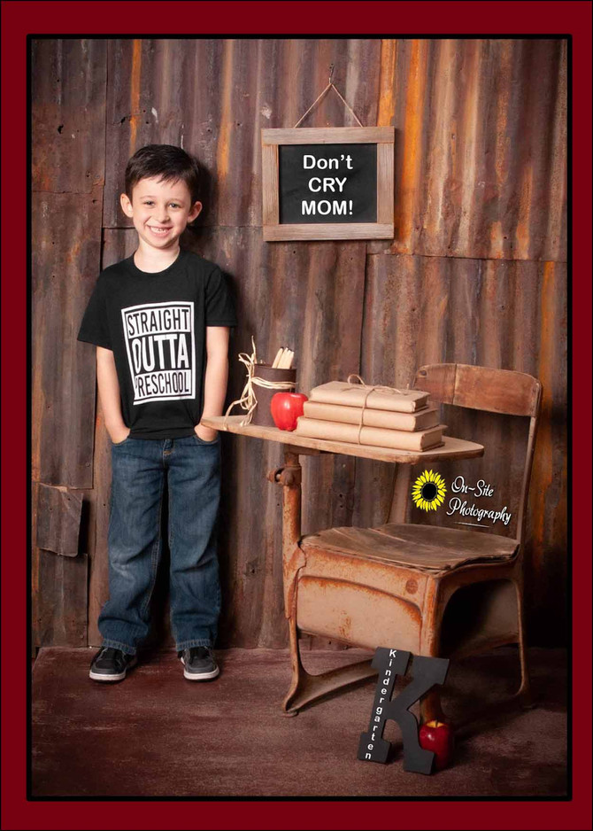Back to School Photos at On-Site Photography