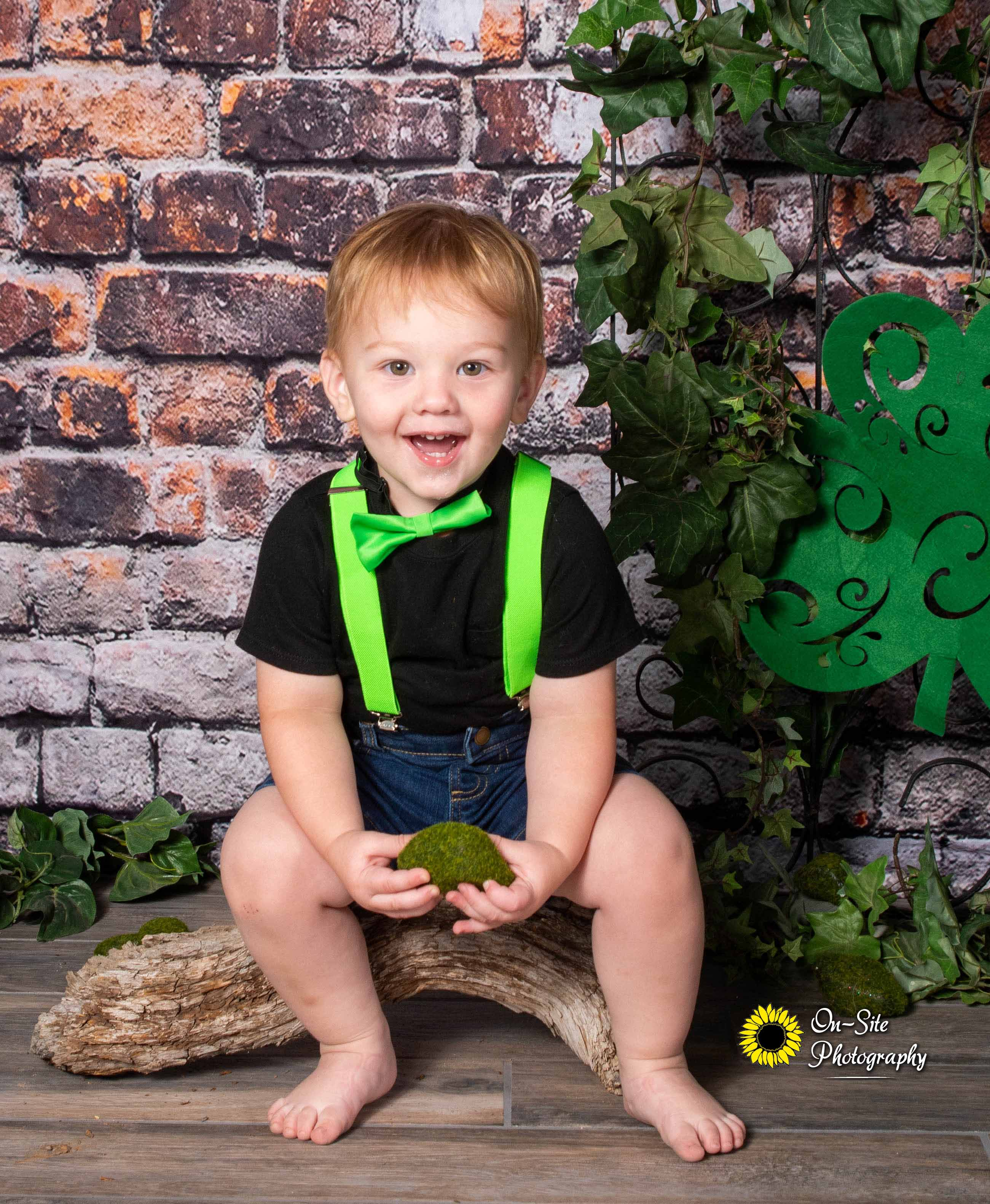 kids photoshoots for st patricks day, ch