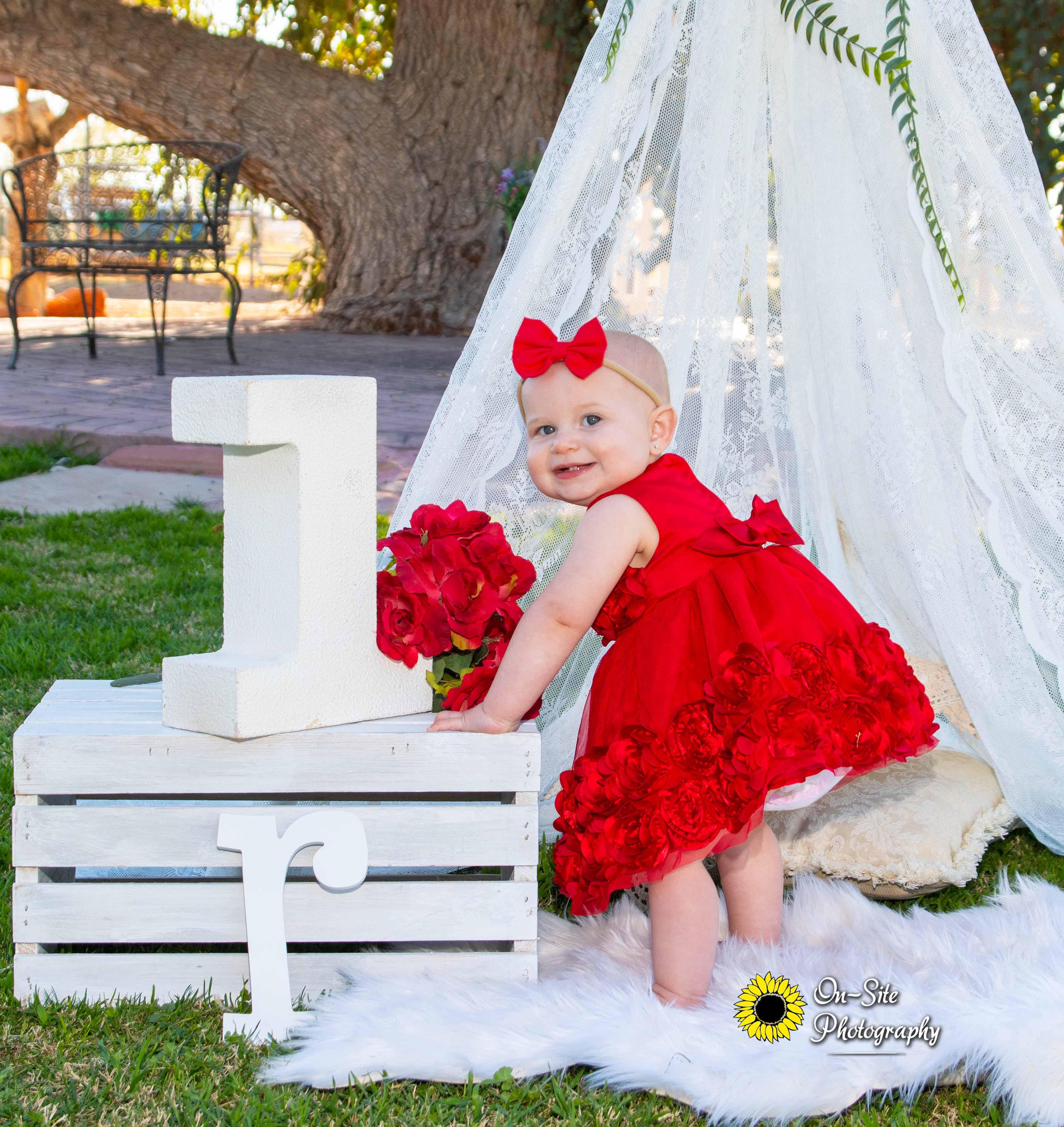 cutest first birthday photoshoot little