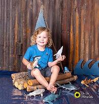 little boys shark scene photoshoot, chil