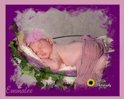 cutest newborn baby girl in swing, fairy