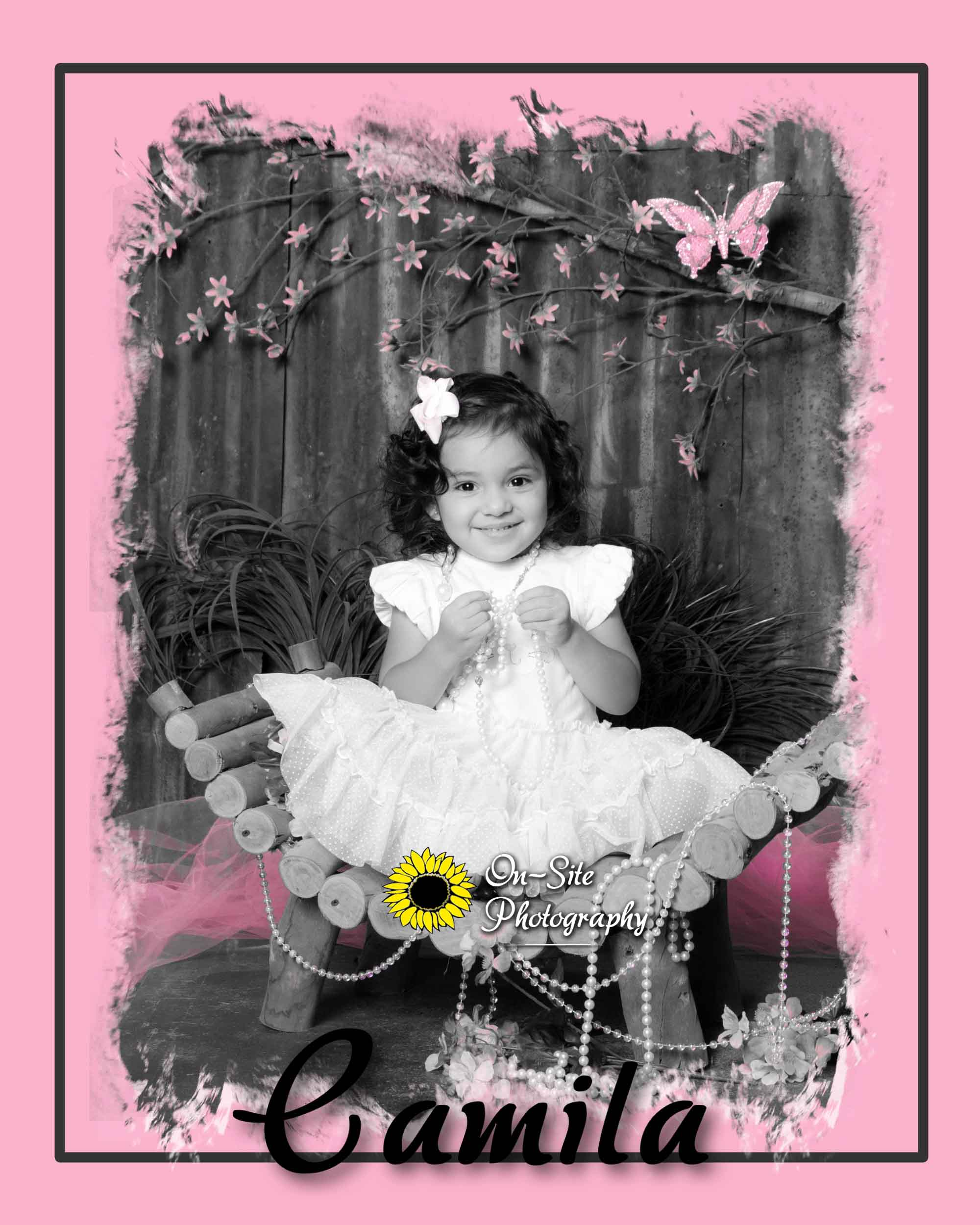 Children portraits, cutest little girl photos, adorable 2 year old girl photos, On-Site Photography,