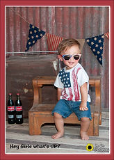 fourth of july childrens photos, little
