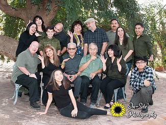 family photos, family photoshoot, large