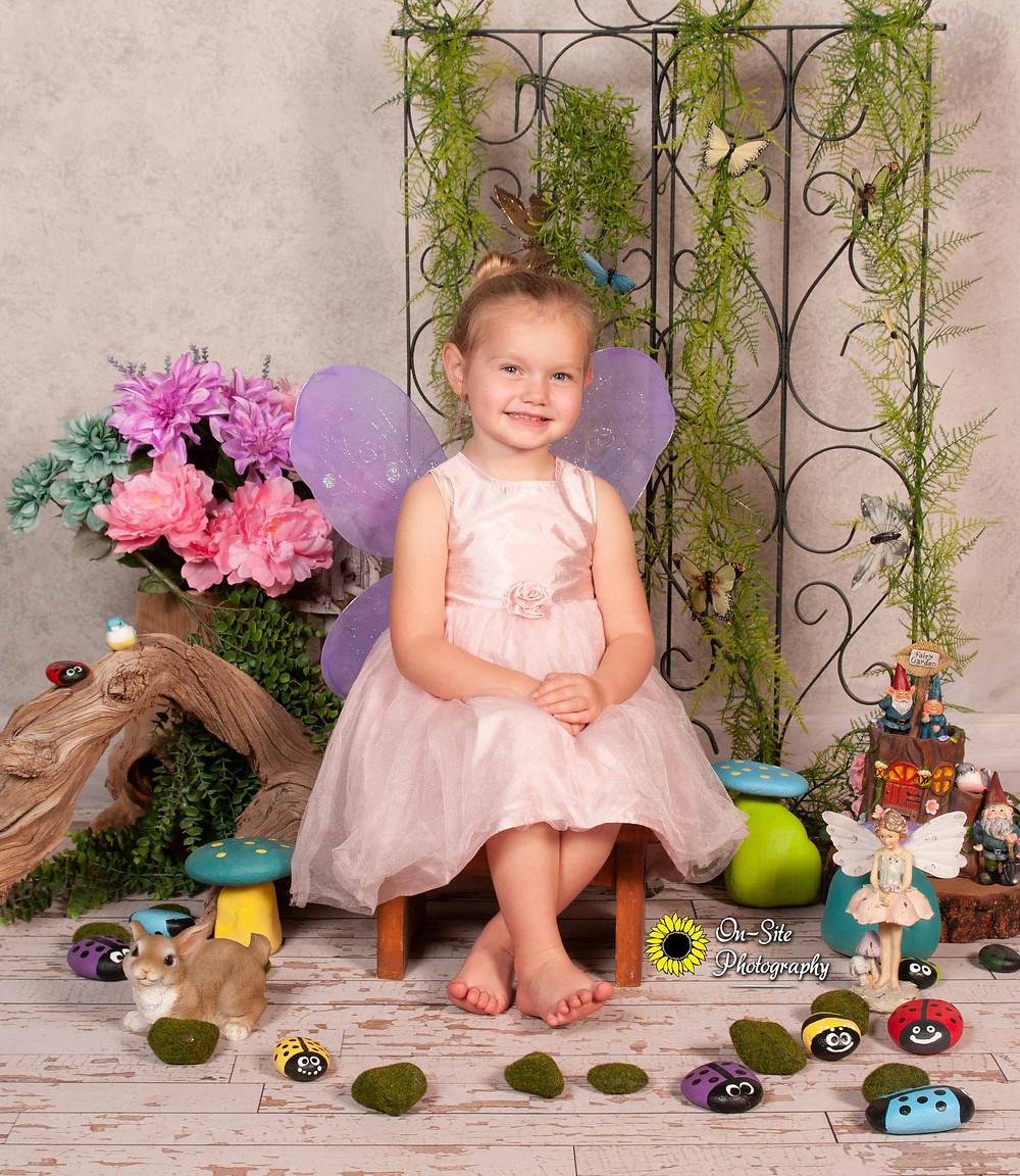 """Spring Photos in our """"Secret Garden"""" scene!"""