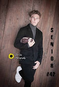 senior boys photos with football, senior